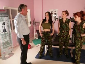 military Cfnm female