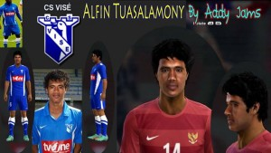 Download PES 2014 Alfin Tuasalamony Face by Addy Jams
