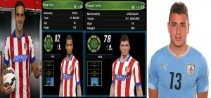 Download PES 2014 Jiminez and Gamez Face by Mouadovsky