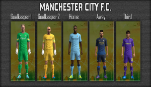 Download PES 2013 Manchester City 14-15 GDB (Update) by mikue-das