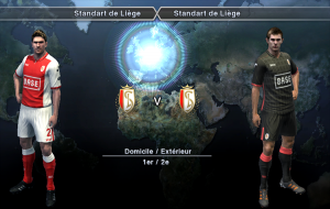 Download Standard Liege Kits for PES 2013 by Auvergne81