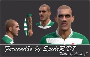 Download PES 2013 Fernandão Face by SpideR D7