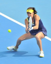 Agnieszka Radwanska 2nd round of 2014 China Open in Beijing 30/09/2014 1