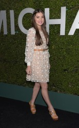 "Hailee Steinfeld - Michael Kors Launch Of Claiborne Swanson Frank's ""Young Hollywood"" Event in Beverly Hills 10/2/14"