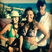Nia Peeples - pokies in bikini instagram pic 8.10.2014