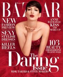 Anne Hathaway - Harper's Bazaar November 2014