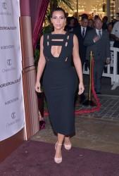 Kim Kardashian -  Charlotte Tilbury arrives in America: VIP Beauty Launch Event in LA 10/9/14