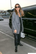 Jessica Alba - At LAX airport in Los Angeles October 9-2014 x18