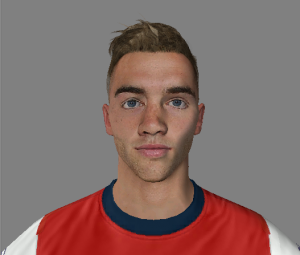Download FIFA14 Calum Chambers Face - Arsenal by @murilocrs