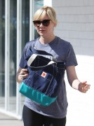 Kirsten Dunst - Seen leaving the gym in Studio City, CA October 10-2014 x68