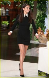 Selena Gomez on The Ellen DeGeneres Show 10/13/14