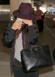 Selena Gomez - At LAX Airport 10/14/14
