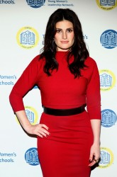 singer idina menzel right hand hip