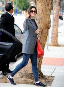 Emmy Rossum out in Santa Monica 10/15/14