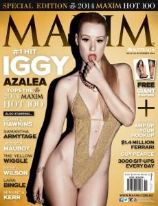 Iggy Azalea in Maxim Australia November 2014