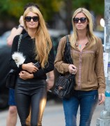 Paris & Nicky Hilton - Hanging out in NYC October 15-2014 x8