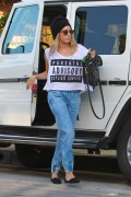 Ashley Tisdale - Shopping in West Hollywood 10/16/14