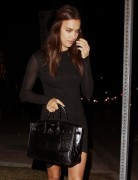 Irina Shayk - Leaving Koi restaurant in West Hollywood 10/18/14