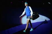 Eugenie Bouchard WTA Finals in Singapore on October 20-2014 x25
