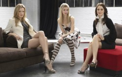 Leighton Meester, Blake Lively and Taylor Momsen in Gossip Girl Season 1 Promo Shots