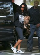 Rihanna - Leaving a dentist office in NYC 10/21/14
