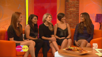 The Saturdays - Lorraine 4th April 2014 1080p