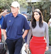 Kim Kardashian and Bruce Jenner - Filming at Little Next Door in West Hollywood October 20-2014 x226