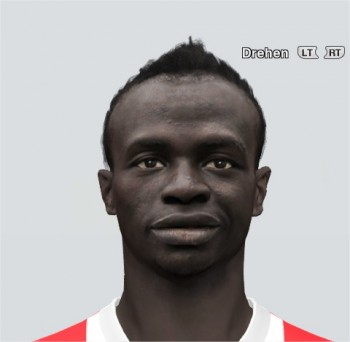 PES 2014 Sadio Mané Face by rednik
