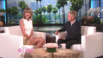 TAYLOR SWIFT - HOT - Ellen 10.27.14