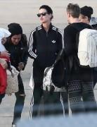 Katy Perry - Arriving At The Le Bourget Airport In Paris,  France - Oct 26 2014