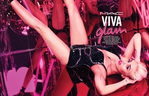 Miley Cyrus - MAC Cosmetics Viva Glam
