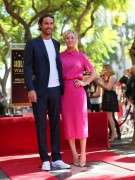 Kaley Cuoco - Honored with a star on The Hollywood Walk of Fame 10/29/14