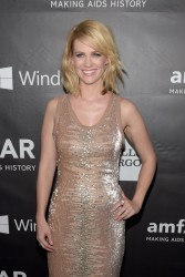 January Jones - 2014 amfAR LA Inspiration Gala in Hollywood 10/29/14