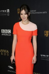 Hailee Steinfeld - BAFTA Los Angeles Jaguar Britannia Awards in Beverly Hills 10/30/14