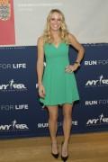 Caroline Wozniacki New York Road Runner's Team for Kids Program October 30-2014 x10