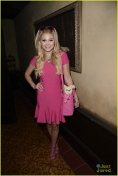 Olivia Holt - Just Jared Halloween Party in Hollywood 10/31/14