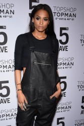 Ciara - Topman Flagship Opening Dinner in NYC 11/4/14