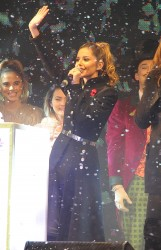 Cheryl Fernandez-Versini Cole Switches on the Oxford Street Christmas Lights in London 06/11/2014 29