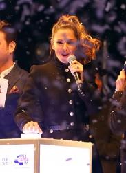 Cheryl Fernandez-Versini Cole Switches on the Oxford Street Christmas Lights in London 06/11/2014 41