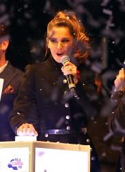 Cheryl Fernandez-Versini Cole Switches on the Oxford Street Christmas Lights in London 06/11/2014 51