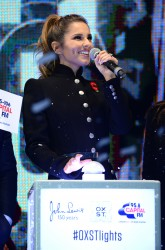 Cheryl Fernandez-Versini Cole Switches on the Oxford Street Christmas Lights in London 06/11/2014 12