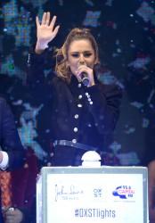 Cheryl Fernandez-Versini Cole Switches on the Oxford Street Christmas Lights in London 06/11/2014 14
