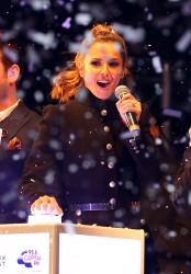 Cheryl Fernandez-Versini Cole Switches on the Oxford Street Christmas Lights in London 06/11/2014 39
