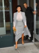 Kim Kardashian - Leaving Cipriani Downtown in NYC 11/7/14