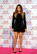 Khloe Kardashian - Hairfinity UK Launch in London 11/8/14