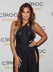Khloe Kardashian - French Montana's birthday bash in LA 11/9/14