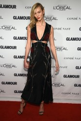 Karlie Kloss - Glamour Honors the Women of the Year in NYC 11/10/14