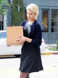 Dianna Agron - Shopping in West Hollywood 11/11/14