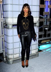 Aisha Tyler - Arriving at HaloFest 'Halo: The Master Chief Collection' Launch Event - 11/10/2014
