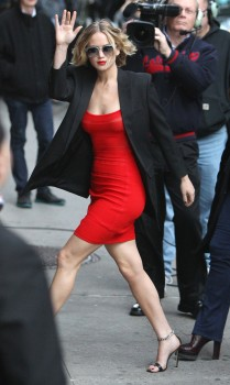 Jennifer Lawrence Going to and at the 'Late Show with David Letterman' in NYC 11/12/14 22